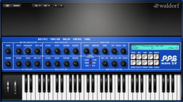 PPG Wave 3.V Synthesizer