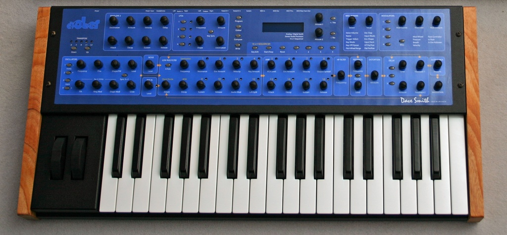 Mono Evolver Keyboard