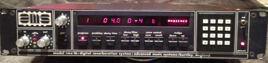 RMX16 Digital Reverberation System