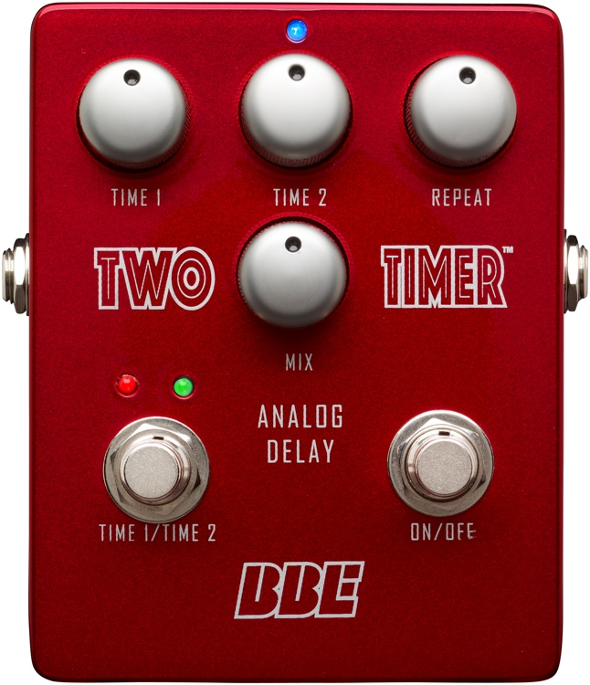 Two Timer Analog Delay Pedal