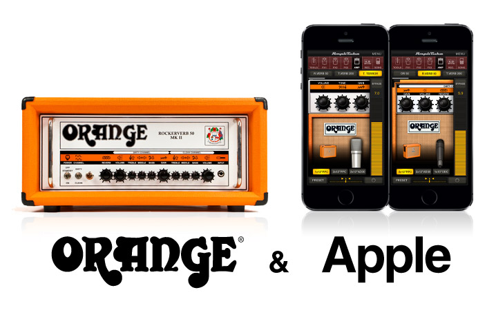 AmpliTube Orange for iPhone/iPod touch