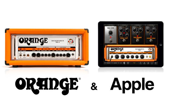 AmpliTube Orange for iPhone and  iPad