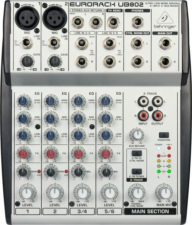 Behringer Eurorack UB-802