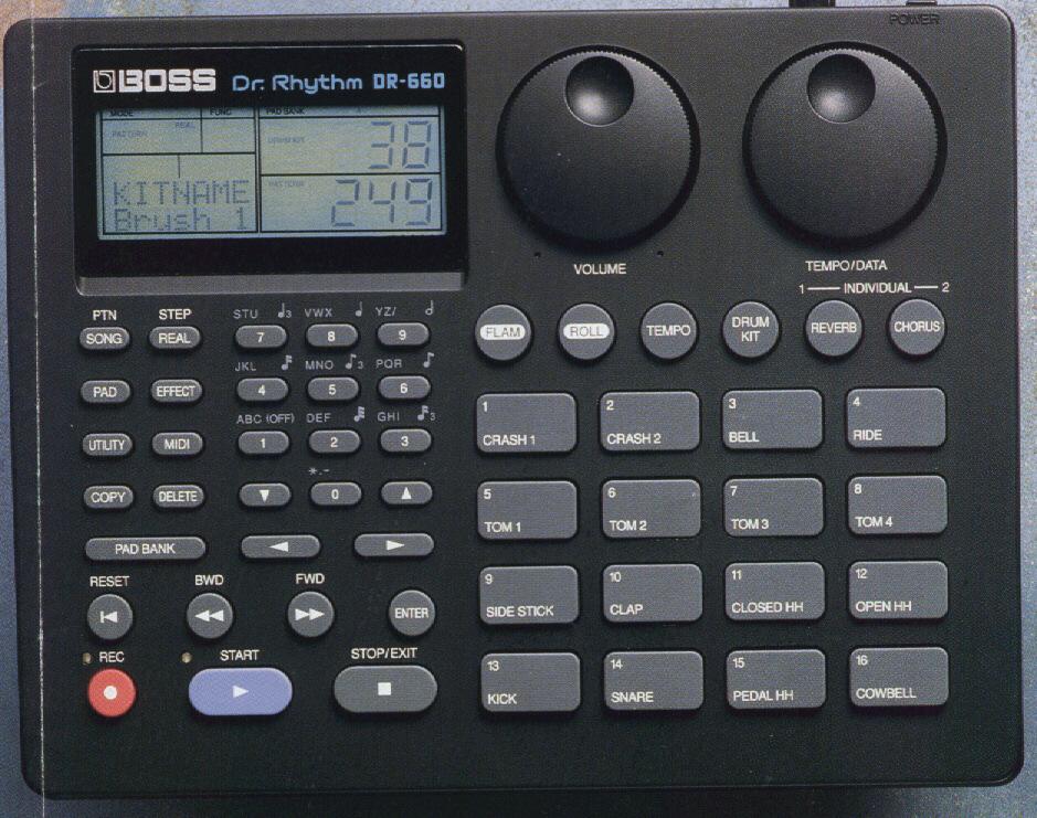 Dr. Rhythm DR-660