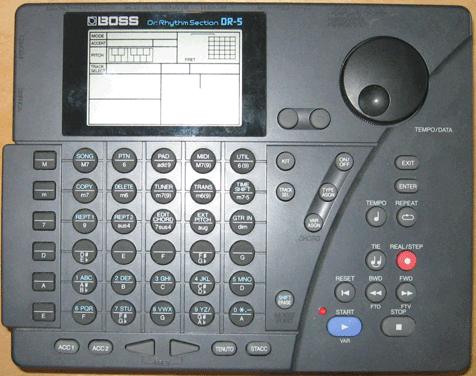 DR-5 Dr. Rhythm (Drum Machine)