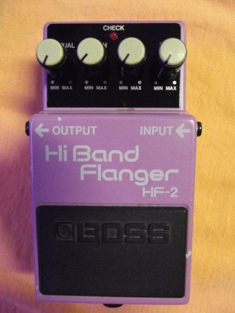 HF-2 Hi Band Flanger Pedal