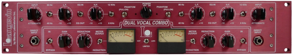 Manley Labs Langevin Dual Vocal Combo