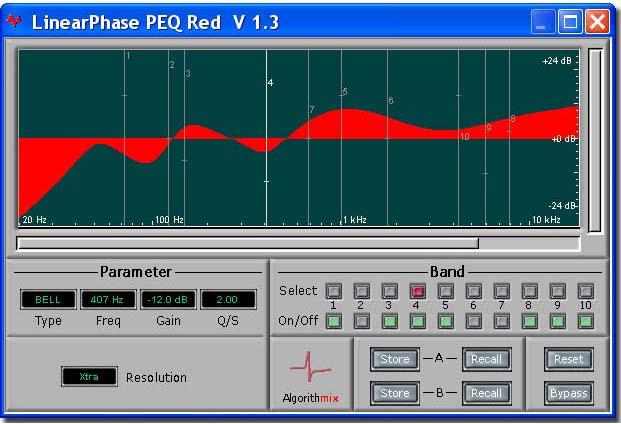 LPEQ Red Phase Linear EQ
