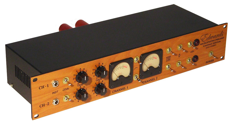 LE-10 Stereo Preamp