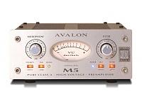 Avalon M5 Pure Class A Mic Preamplifier
