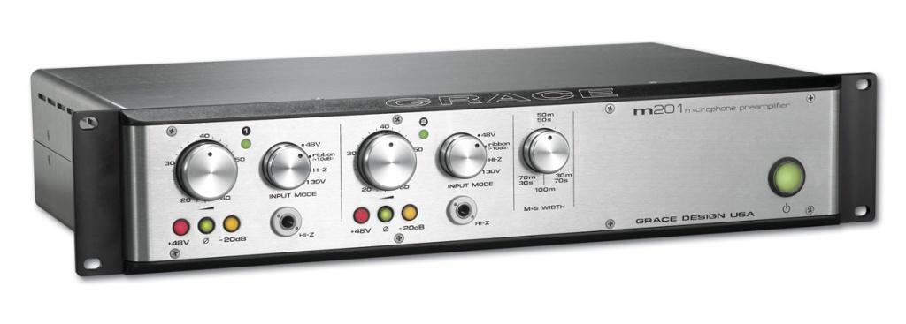 Grace Design m201 dual channel mic pre
