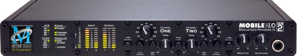 Metric Halo ULN-2 2D Mobile IO