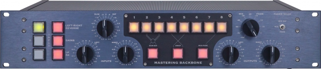 Manley Labs Backbone Mastering Insert Switcher (DB25 Connectors)