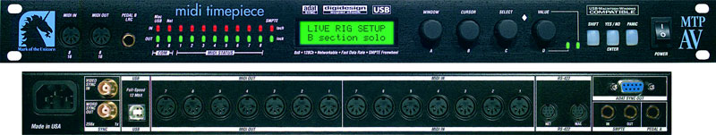 MIDI Timepiece AV