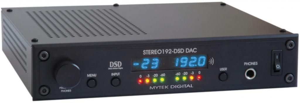 Stereo192-DSD-DAC Black Preamp Version