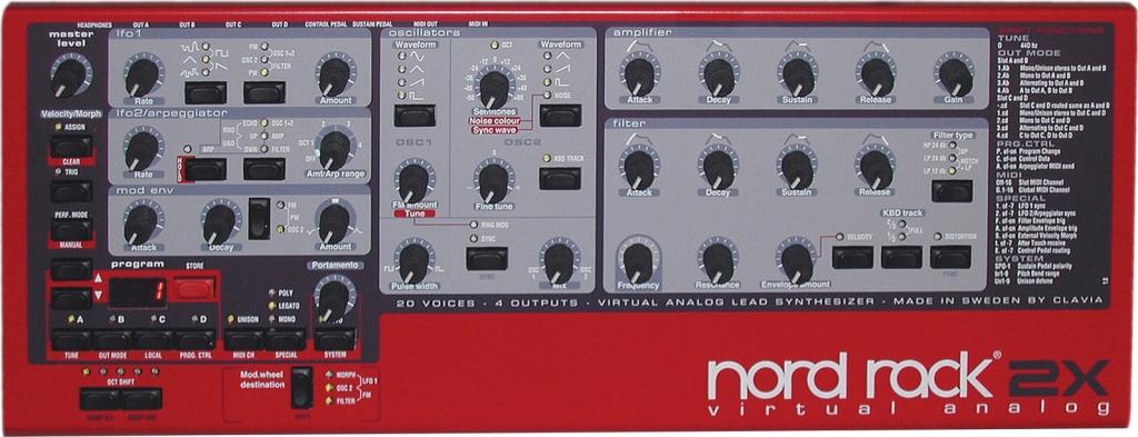 Nord Rack 2X