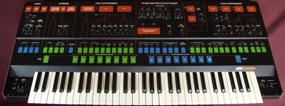 ARP Synthesizers Quadra