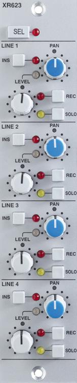 XR623 4 Input Module for X-Rack