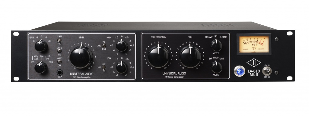 LA-610 MkII Classic Tube Recording Channel