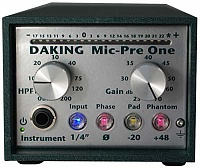 Daking Audio Mic Pre One