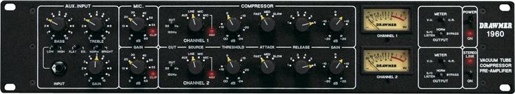 Drawmer 1960 mic pre/compressor