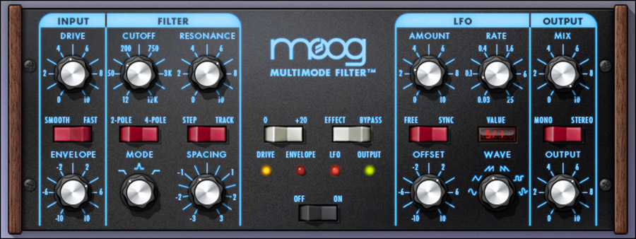 UAD Moog® Multimode Filter