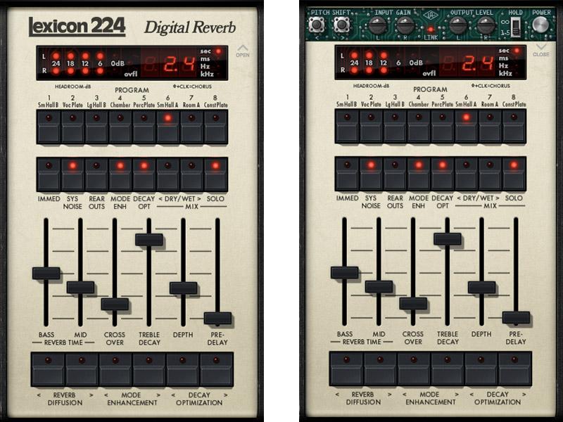 Lexicon 224 Digital Reverb Plug-In