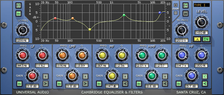 Cambridge EQ Plug-In