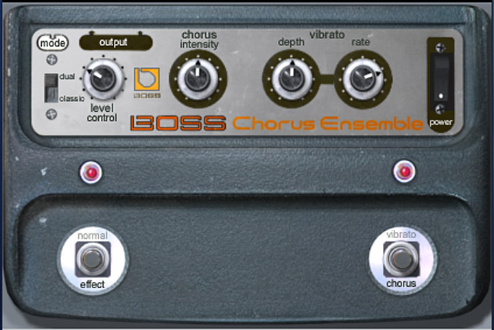 BOSS CE-1 Chorus Ensemble Plug-In