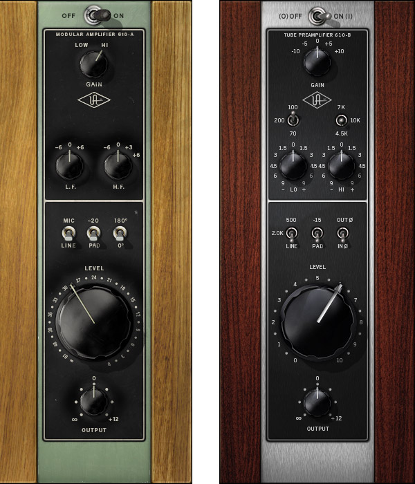UA 610 Tube Preamp & EQ Plug-In Collection