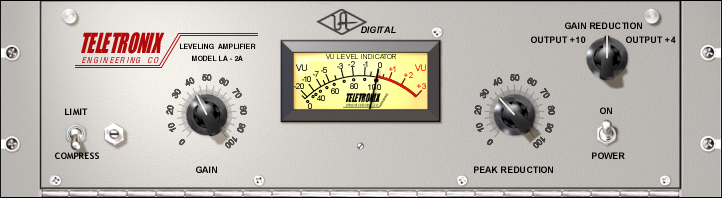 Teletronix LA-2A Legacy Classic Leveling Amplifier Plug-In