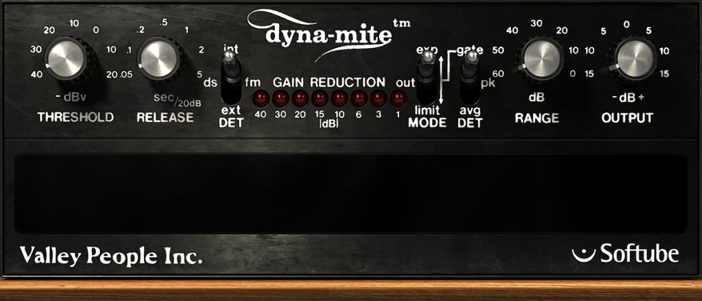 Valley People Dyna-mite Plug-In
