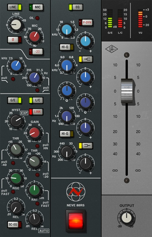 Neve 88RS Channel Strip Collection