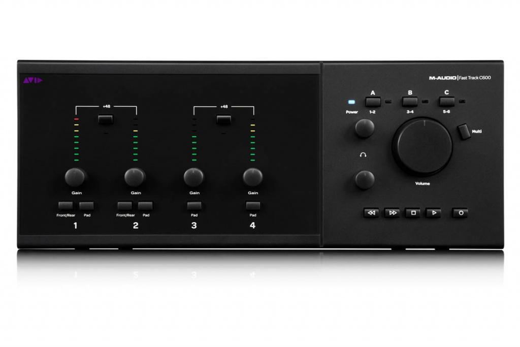 M Audio Fast Track C600