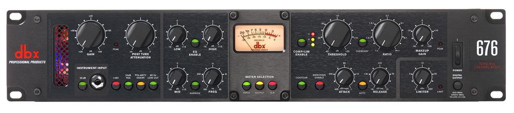 DBX 676 Preamp