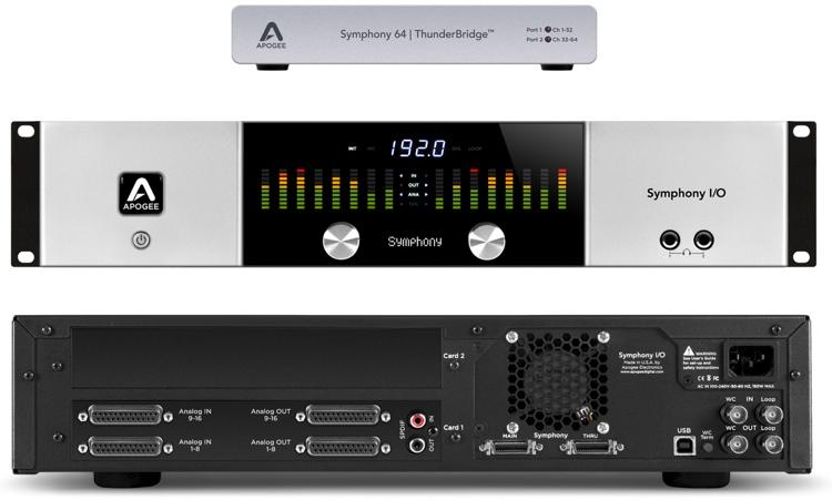 Symphony I/O 16x16 System + ThunderBridge Bundle
