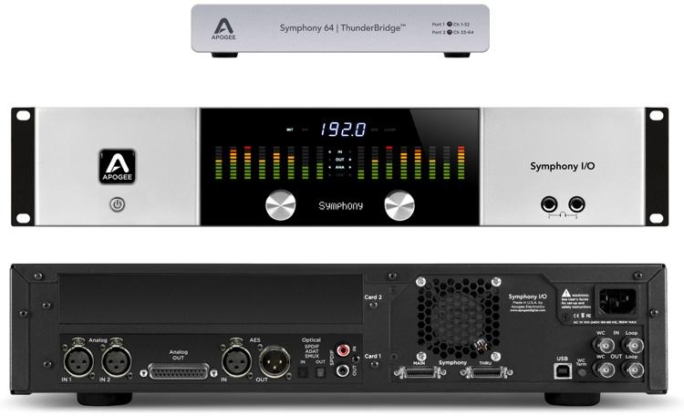 Symphony I/O 2x6 System + ThunderBridge Bundle