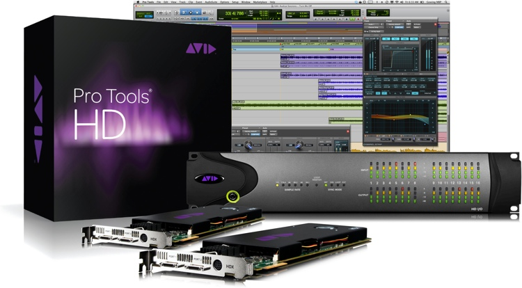 Pro Tools|HDX2 + HD I/O 16x16 Analog