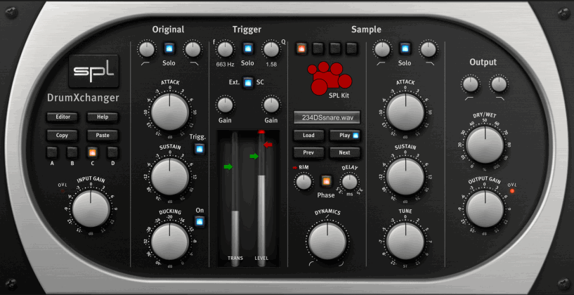 Drumxchanger Native Plugin