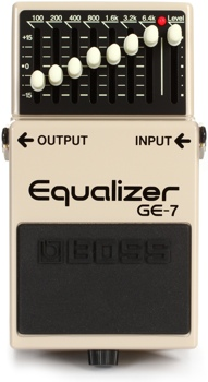GE-7 Graphic Equalizer Pedal