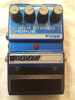 FX68 Super Stereo Analog Chorus Pedal