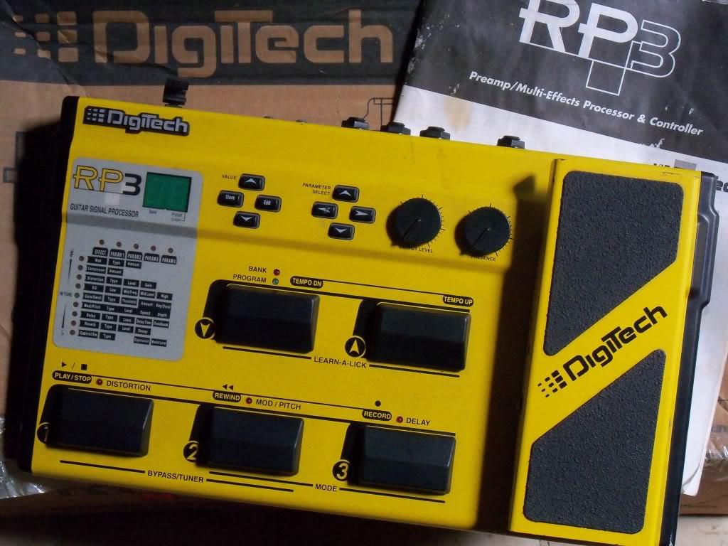 RP3 Guitar Multi Effects Processor