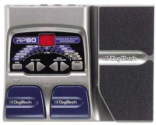 RP80 Multi Effect Pedal