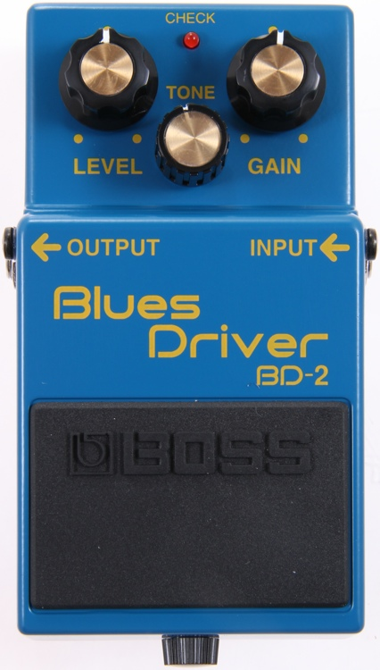 BD-2 Blues Driver Overdrive Pedal