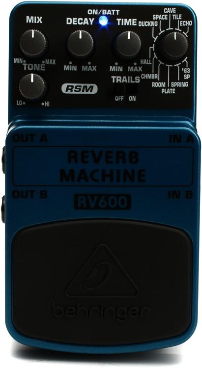 Reverb Machine RV600 Pedal