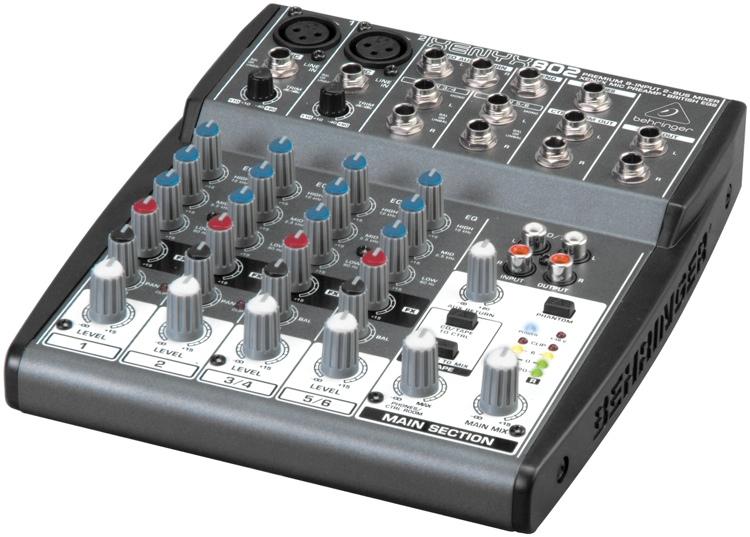 behringer xenyx 802 small mixer user review gearslutz pro audio community. Black Bedroom Furniture Sets. Home Design Ideas