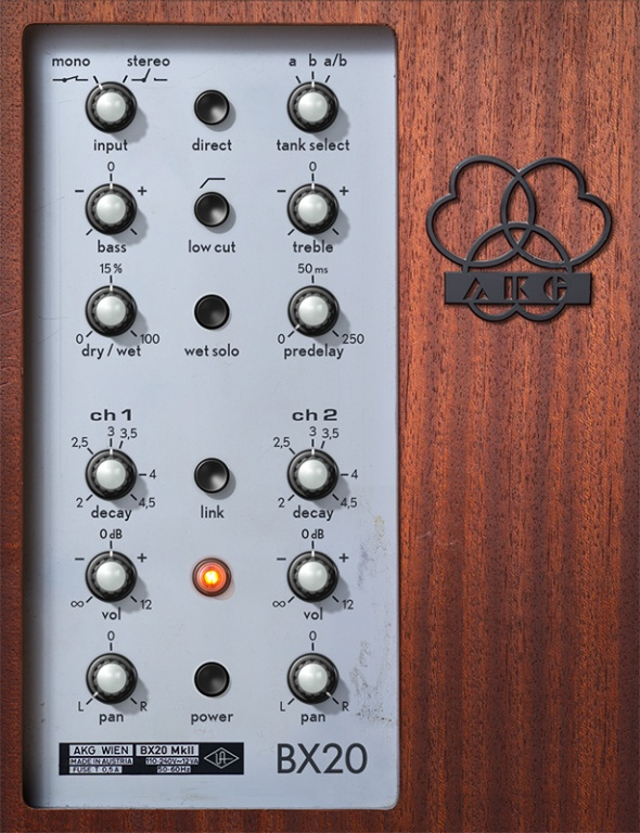 AKG BX 20 Spring Reverb Plug-In