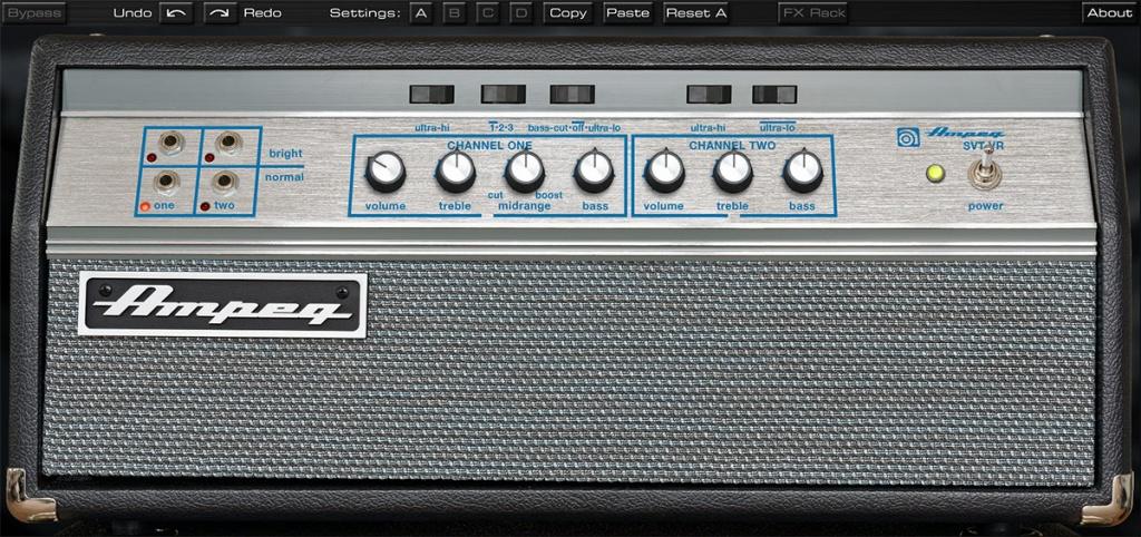 Ampeg SVT-VR Bass Amplifier Plug-In