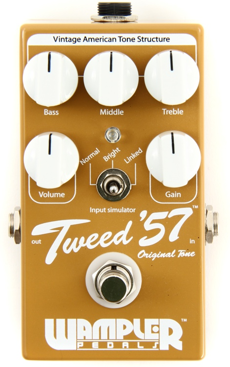 Tweed 57 Overdrive Pedal