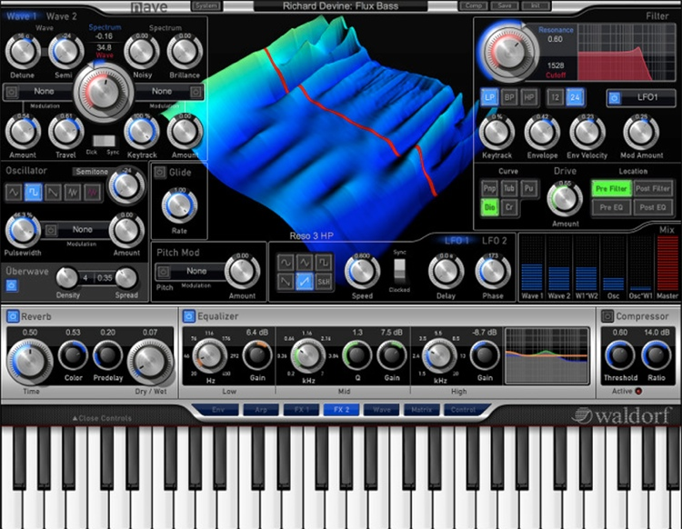 Nave Synthesizer Plug-In